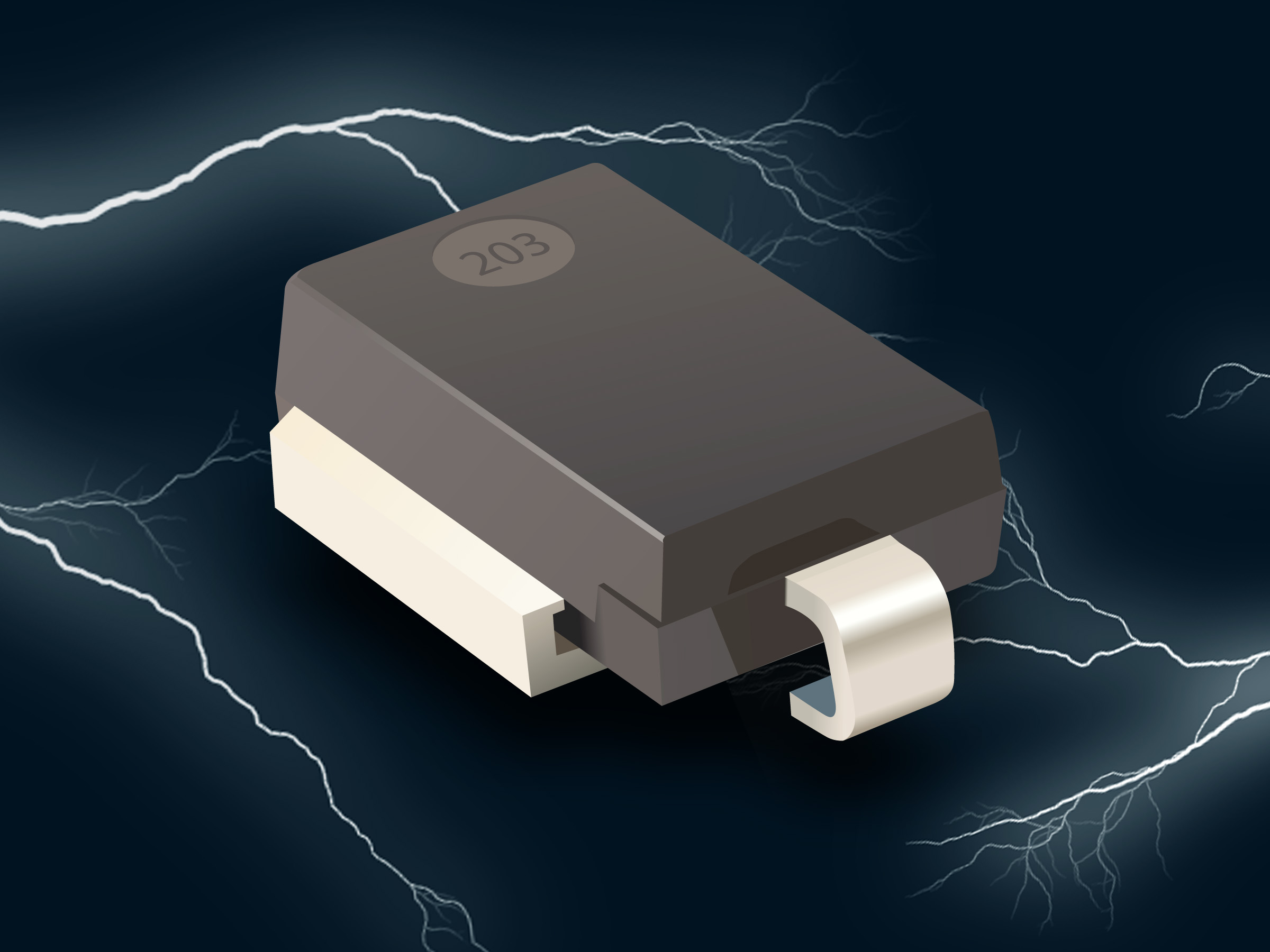 TVS Diodes Feature High Peak Power and Current Ratings
