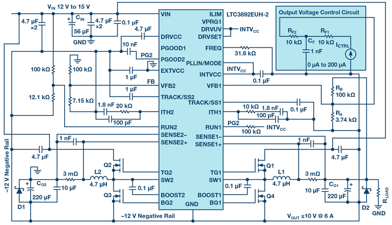 Bipolar Power Supplies Based on the Common Buck Converter