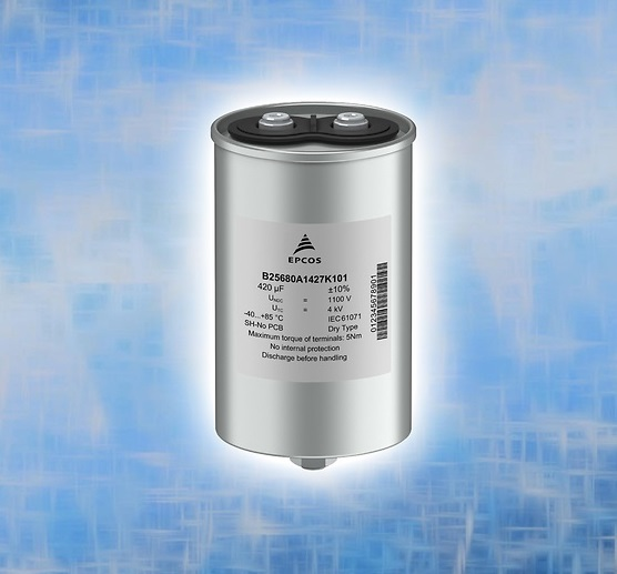 Film Capacitors: Robust Power Capacitors for the DC Link