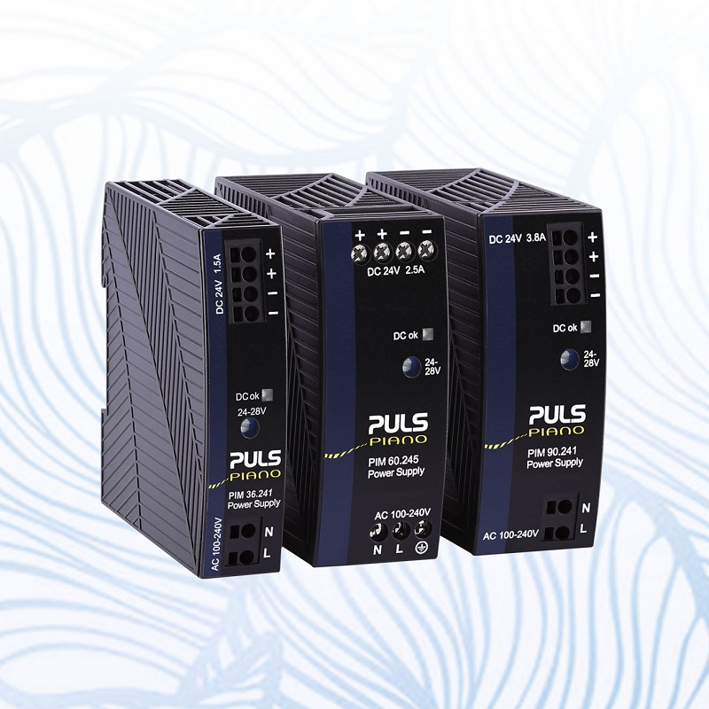 New Compact 36W, 60W and 90W DIN-Rail Mini Power Supplies