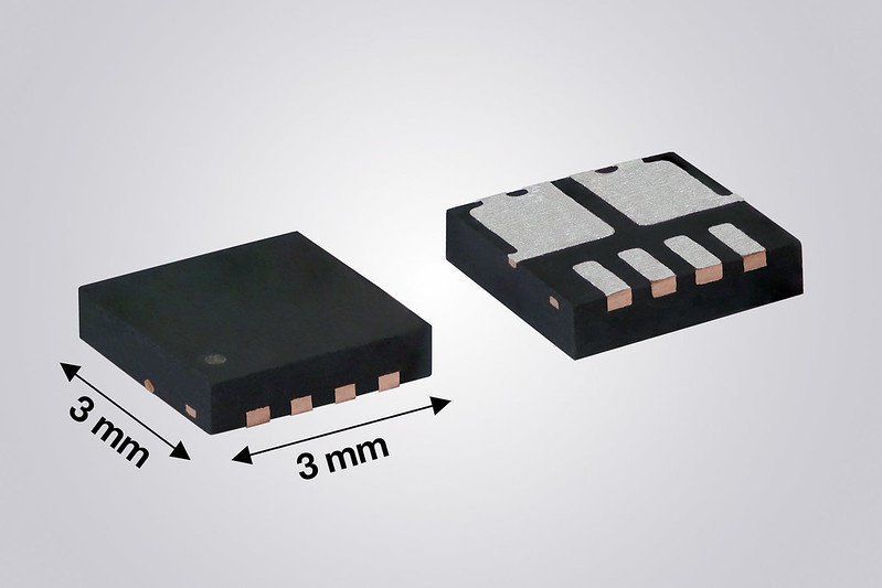 Dual N-Channel 60 V MOSFET Increases Power Density