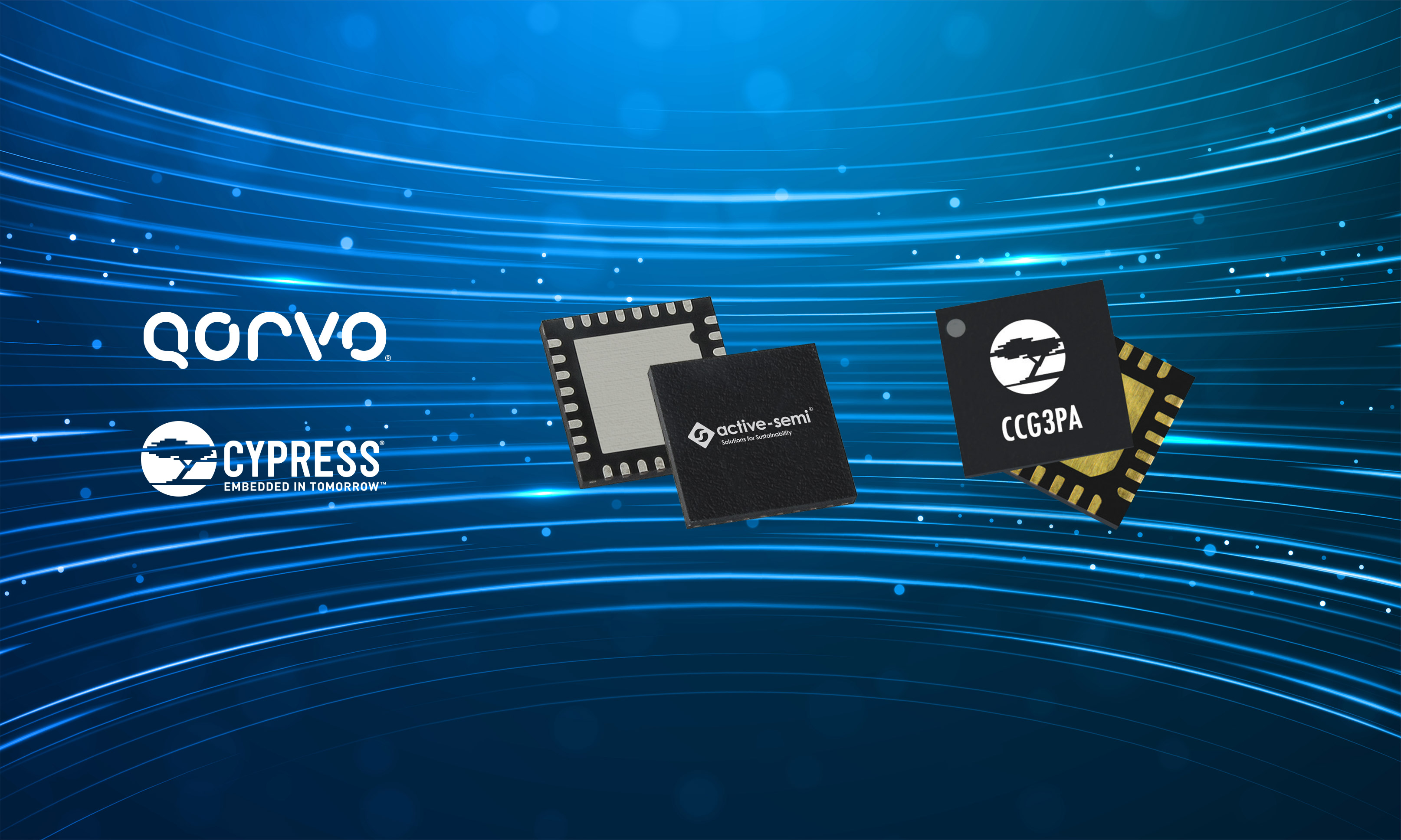 Qorvo and Cypress Semiconductor Create USB-C Reference Design