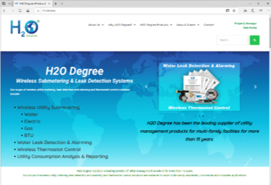 H2O Degree Announces New Website Launch