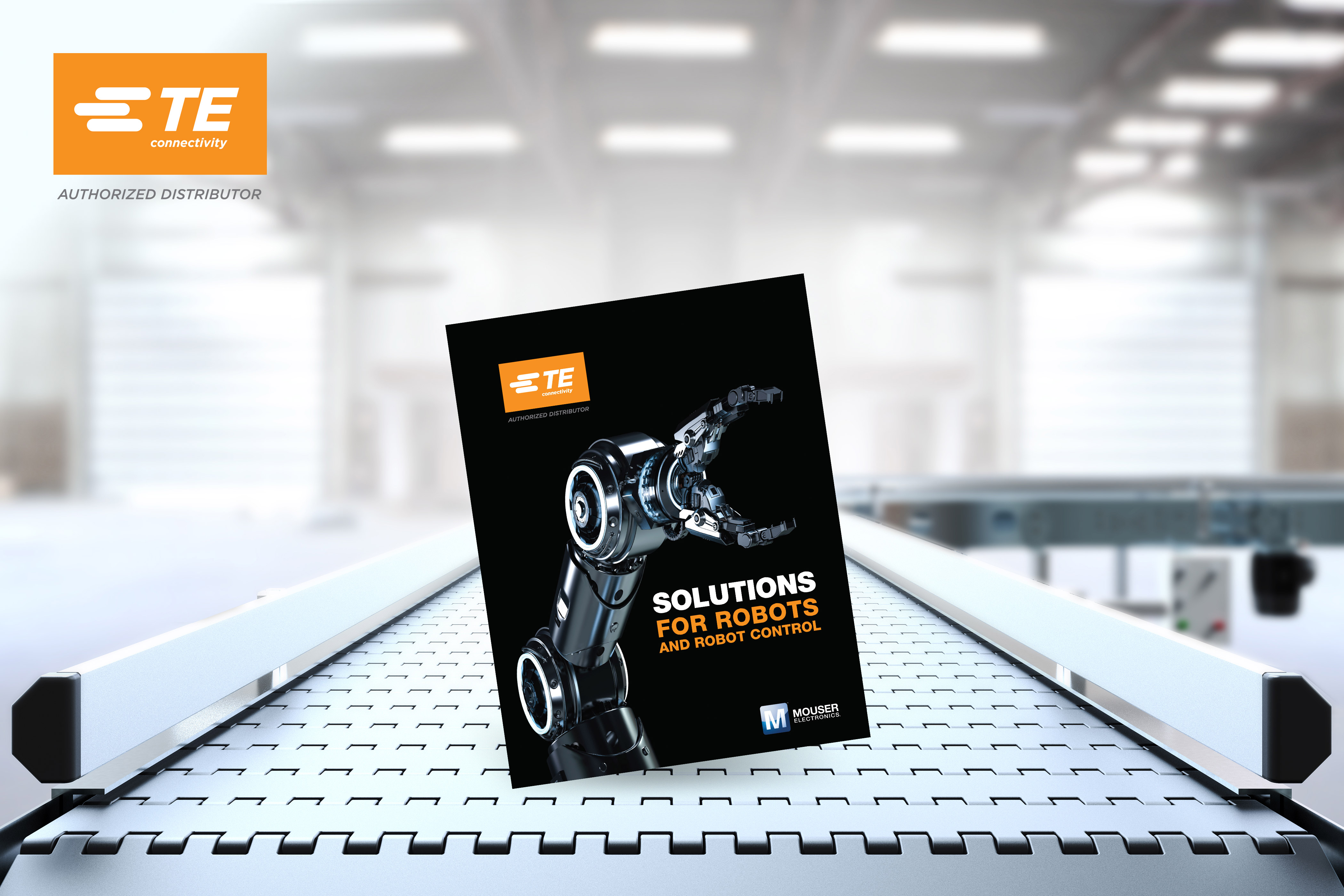 Mouser Electronics, TE Connectivity Survey Robotics in eBook