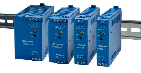 Sager Electronics Offers TDK-Lambda DIN Rail Power Supply