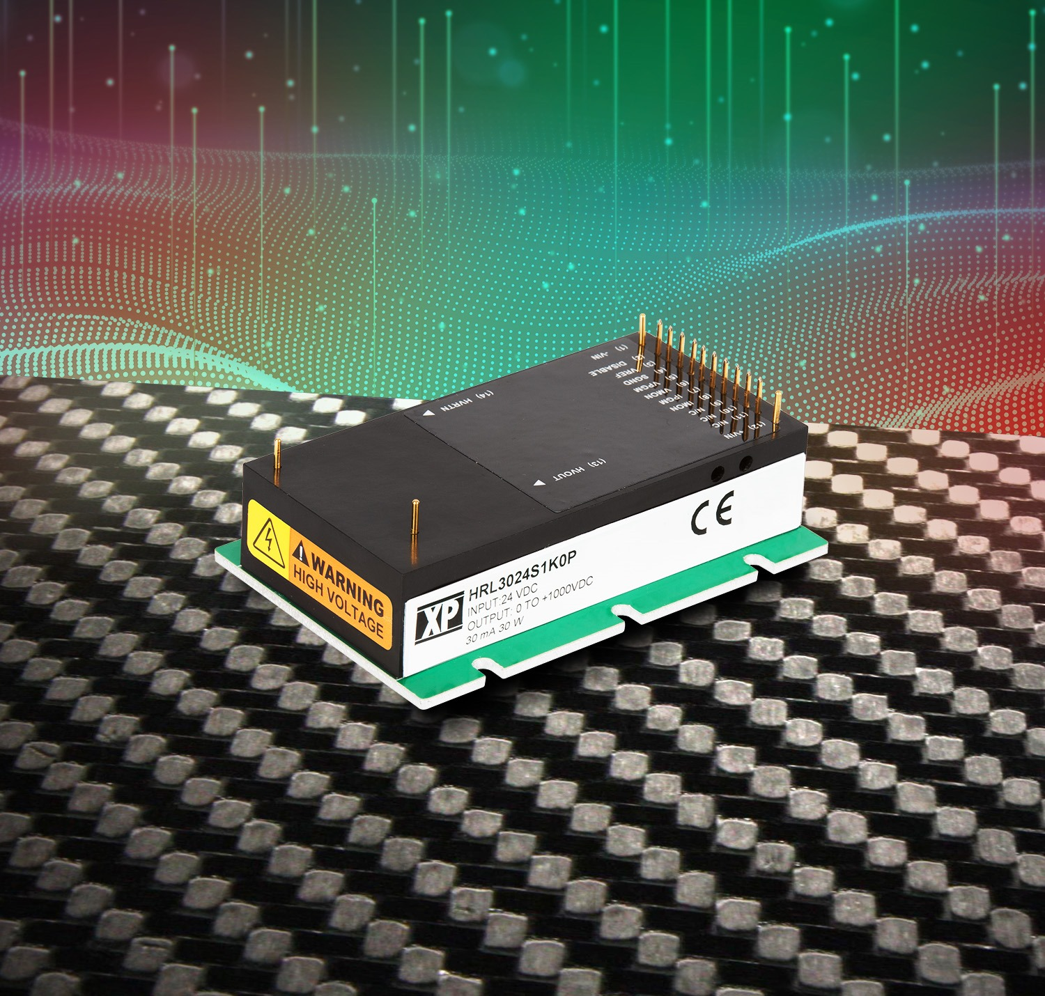 High-Voltage DC-DC Power Module for Scientific Applications
