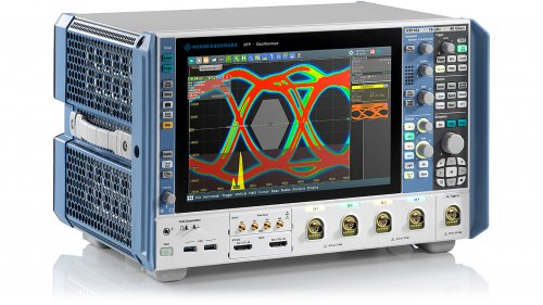Oscilloscopes, Ethernet Switch Meet Wideband Test Conditions