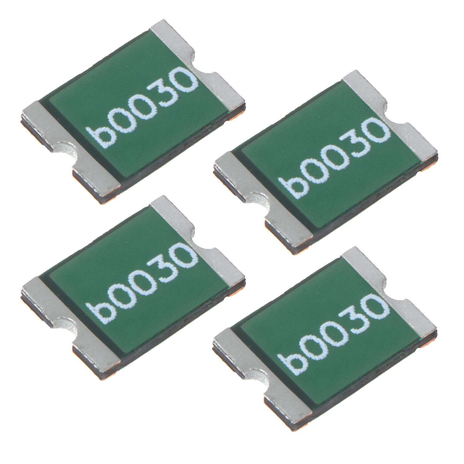 Surface-Mount Fuses with 3.3A, 4A and 5A Options