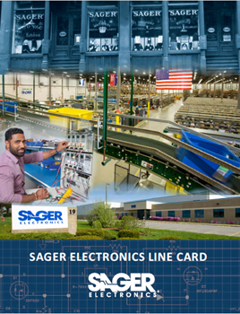 Sager Electronics Unveils New Line Card Design