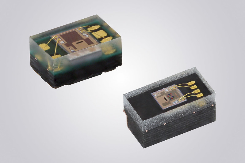 Integrated RGBC-IR Color Sensors With I²C Interface