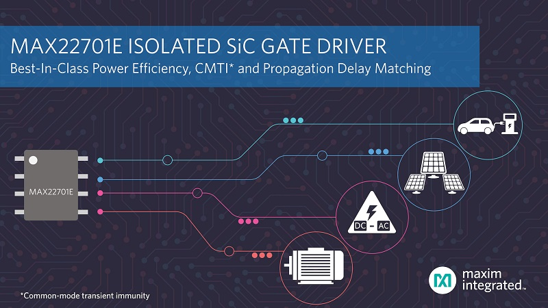 Isolated Silicon Carbide Gate Driver Provides High Efficiency