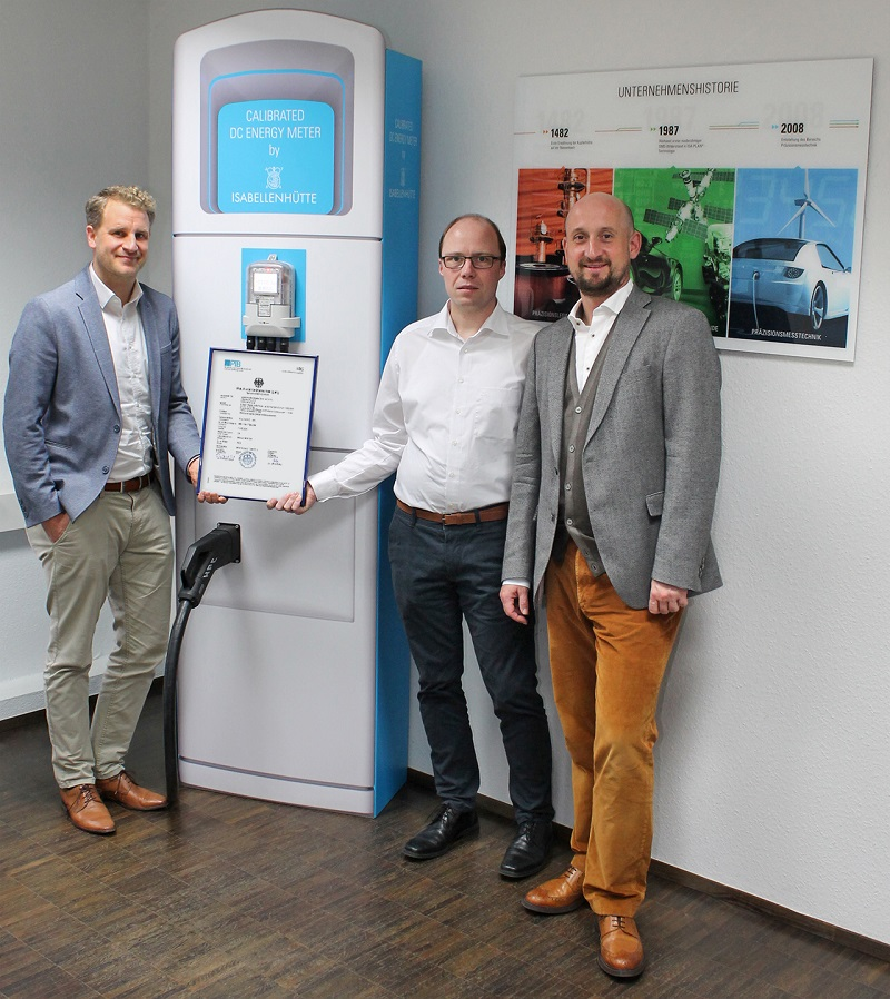 Isabellenhütte receives type examination certification