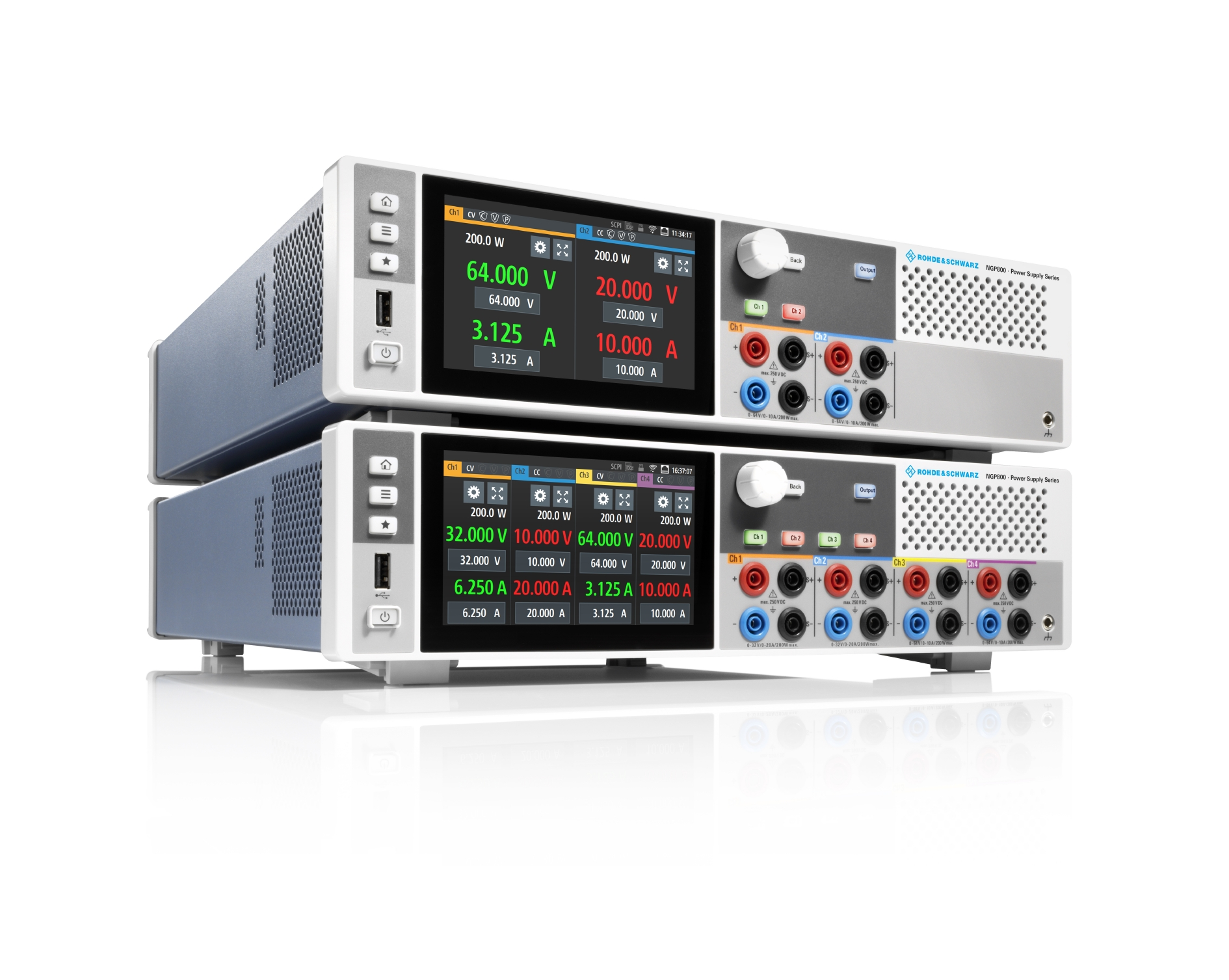 Power Supplies Boost Efficiency w/ Four Independent Channels
