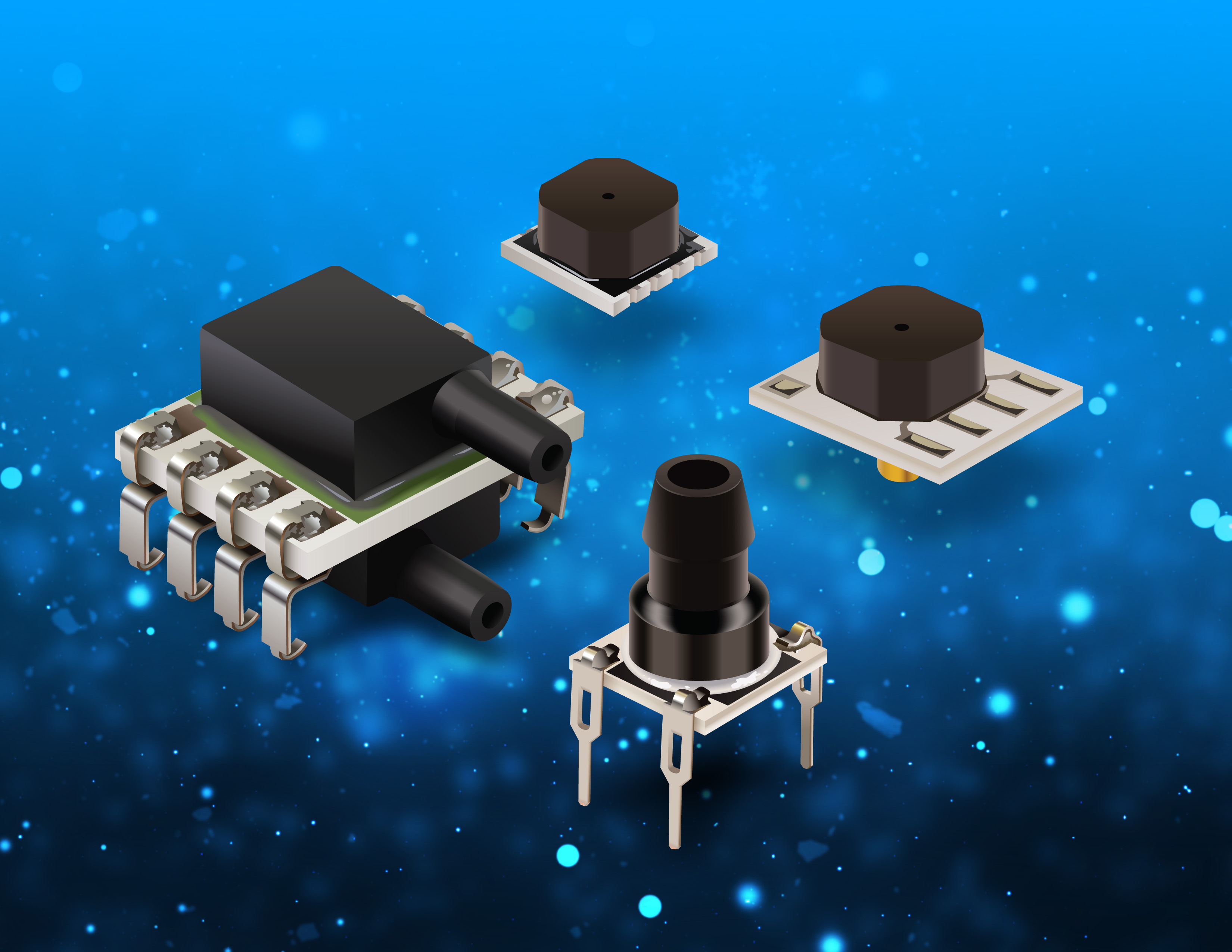 Bourns Adds Four New Pressure Sensor Model Families
