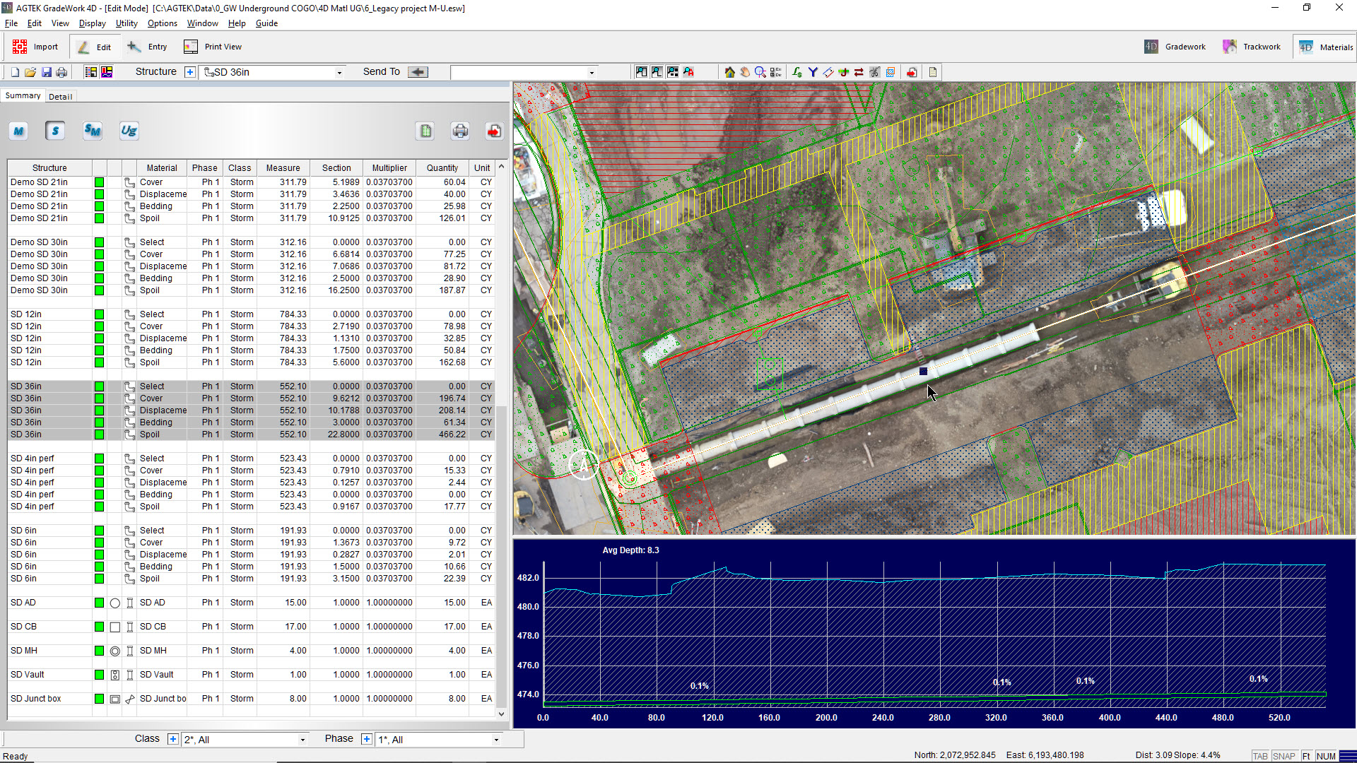 New Underground Software for Takeoff, Production Control