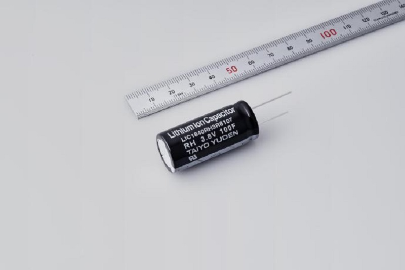 TAIYO YUDEN Creates 105°C Capable Lithium Ion Capacitor