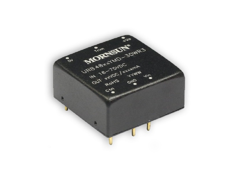 30W High Power Density DC/DC Converter Series URB_YMD-30WR3