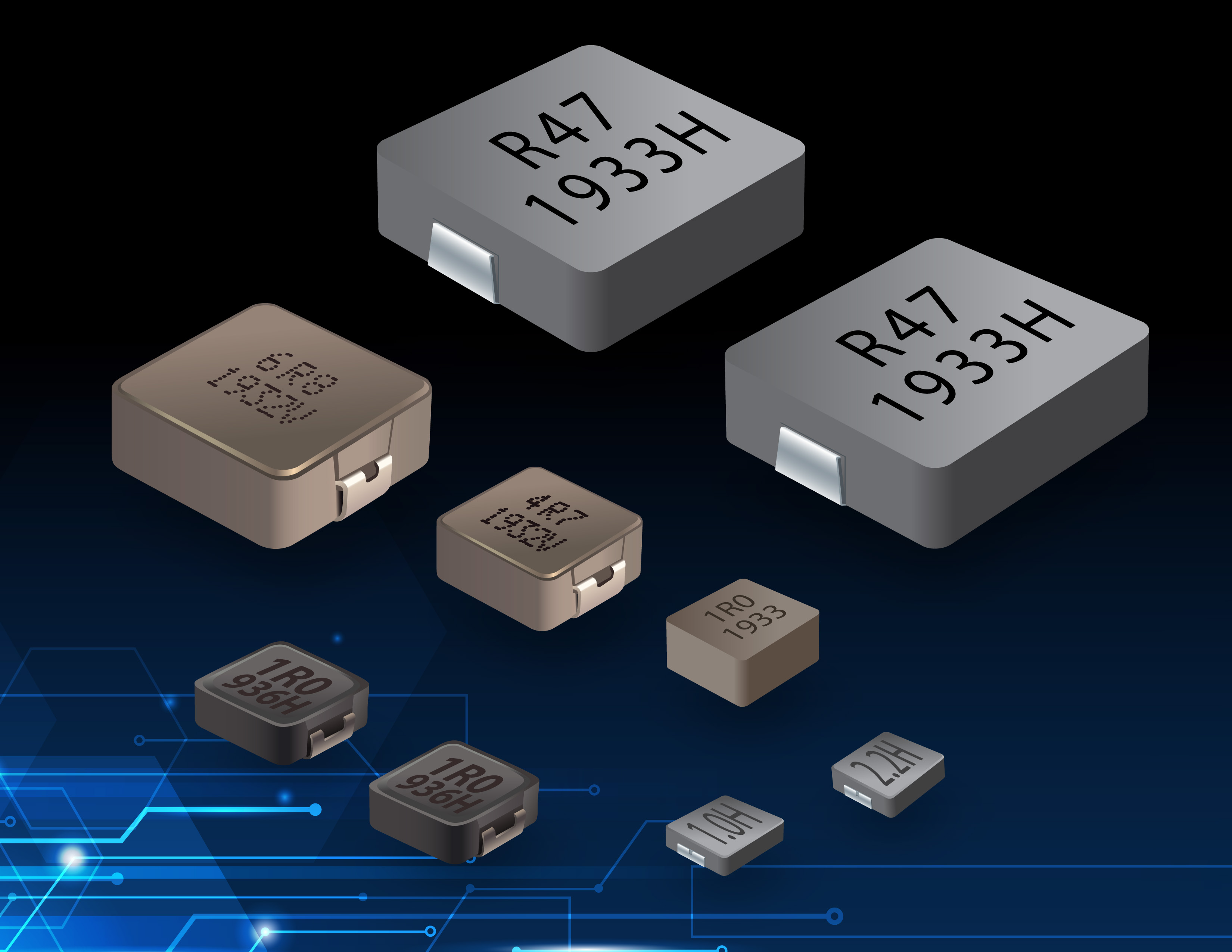 Shielded Inductors Meet High-Current Density Requirements