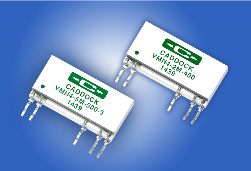 Caddock Releases Ultra-Precision Voltage-Monitoring Networks