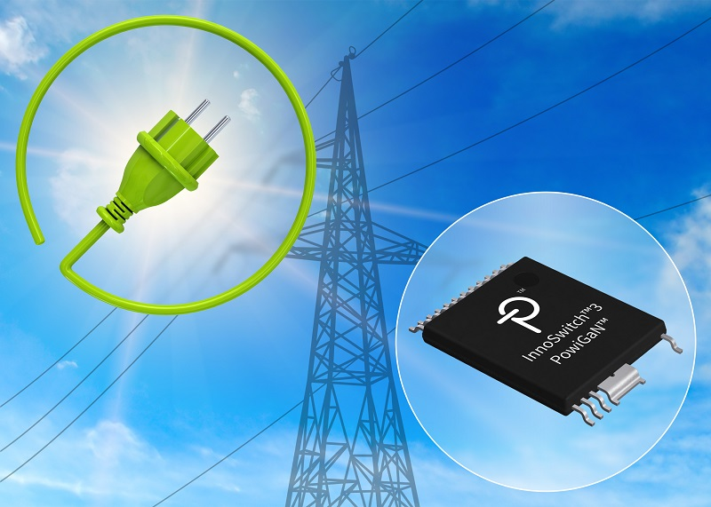 Power Integrations Expands Range of InnoSwitch3 ICs
