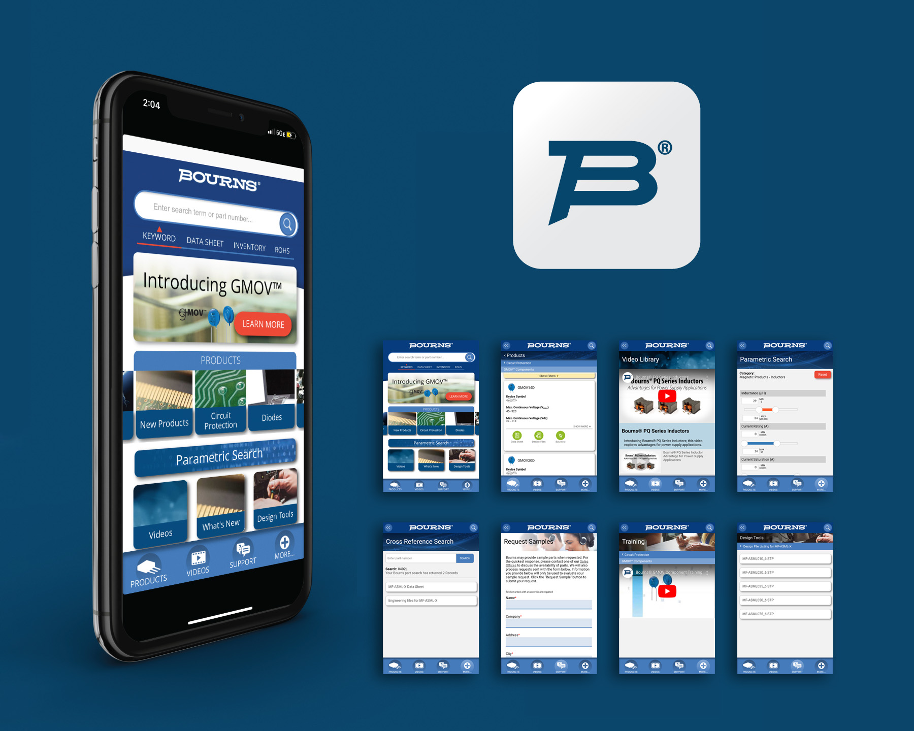 Bourns Launches Mobile App for iPhone and Android