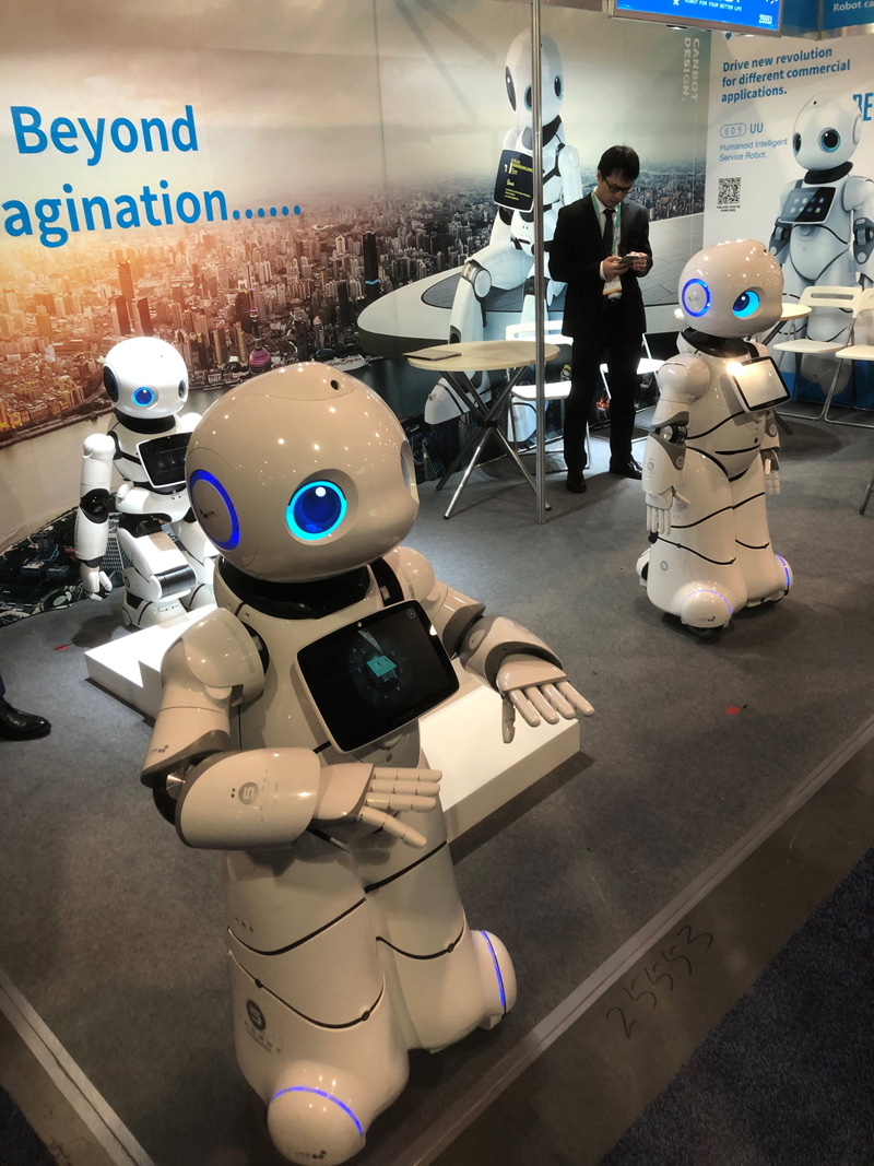 CES 2020: The Power Behind the Robot