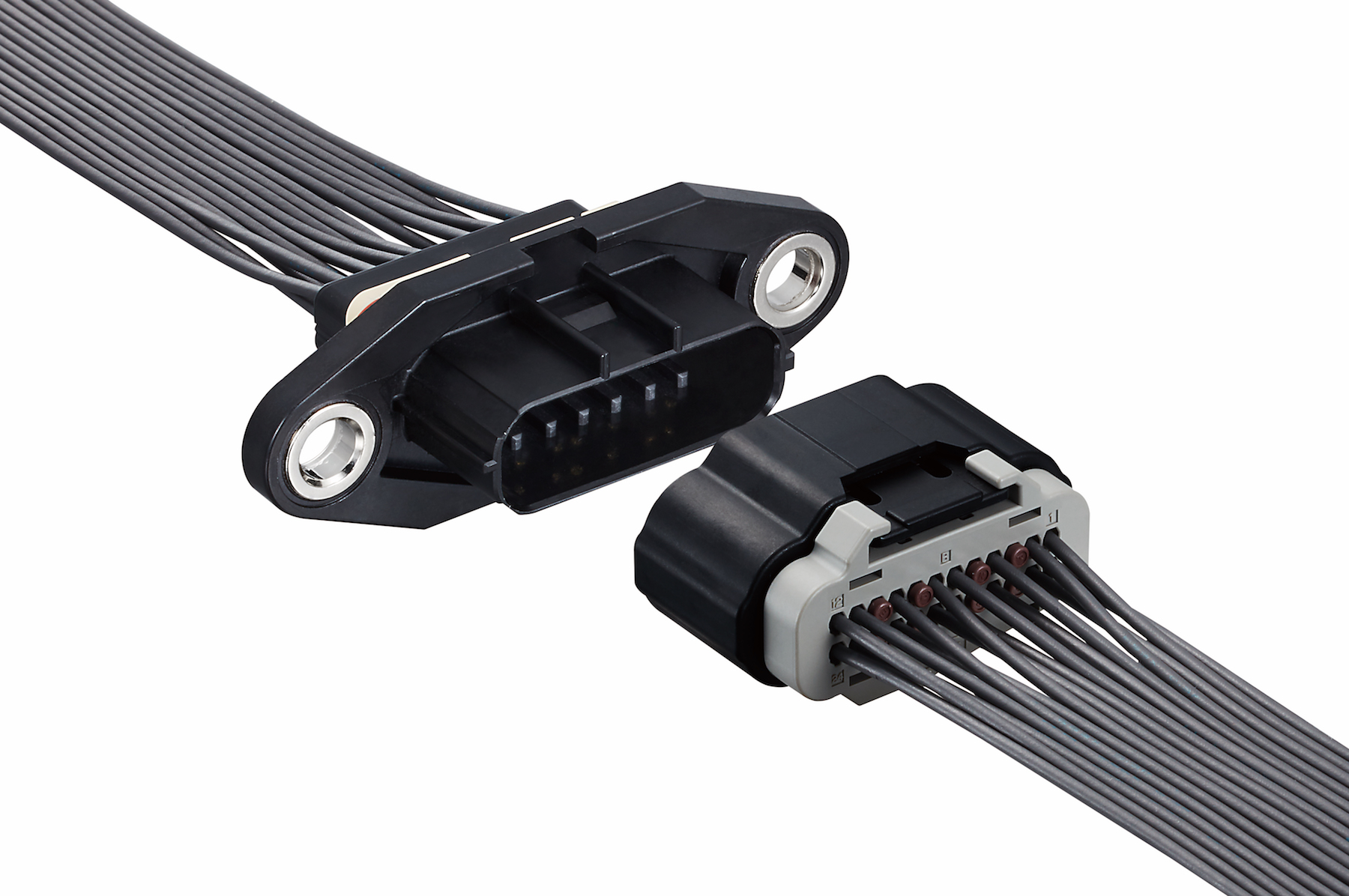 Wire-to-Wire Connector w/ High Vibration and Heat Resistance