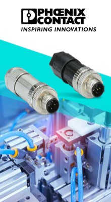 Phoenix Contact's M12 Power Connectors in Stock at TTI