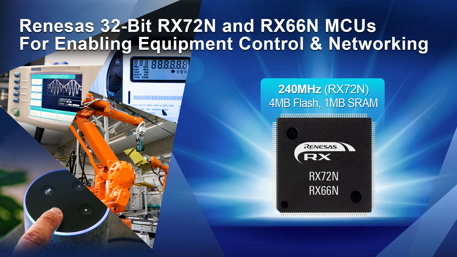 32-Bit MCUs Designed for Industrial Automation