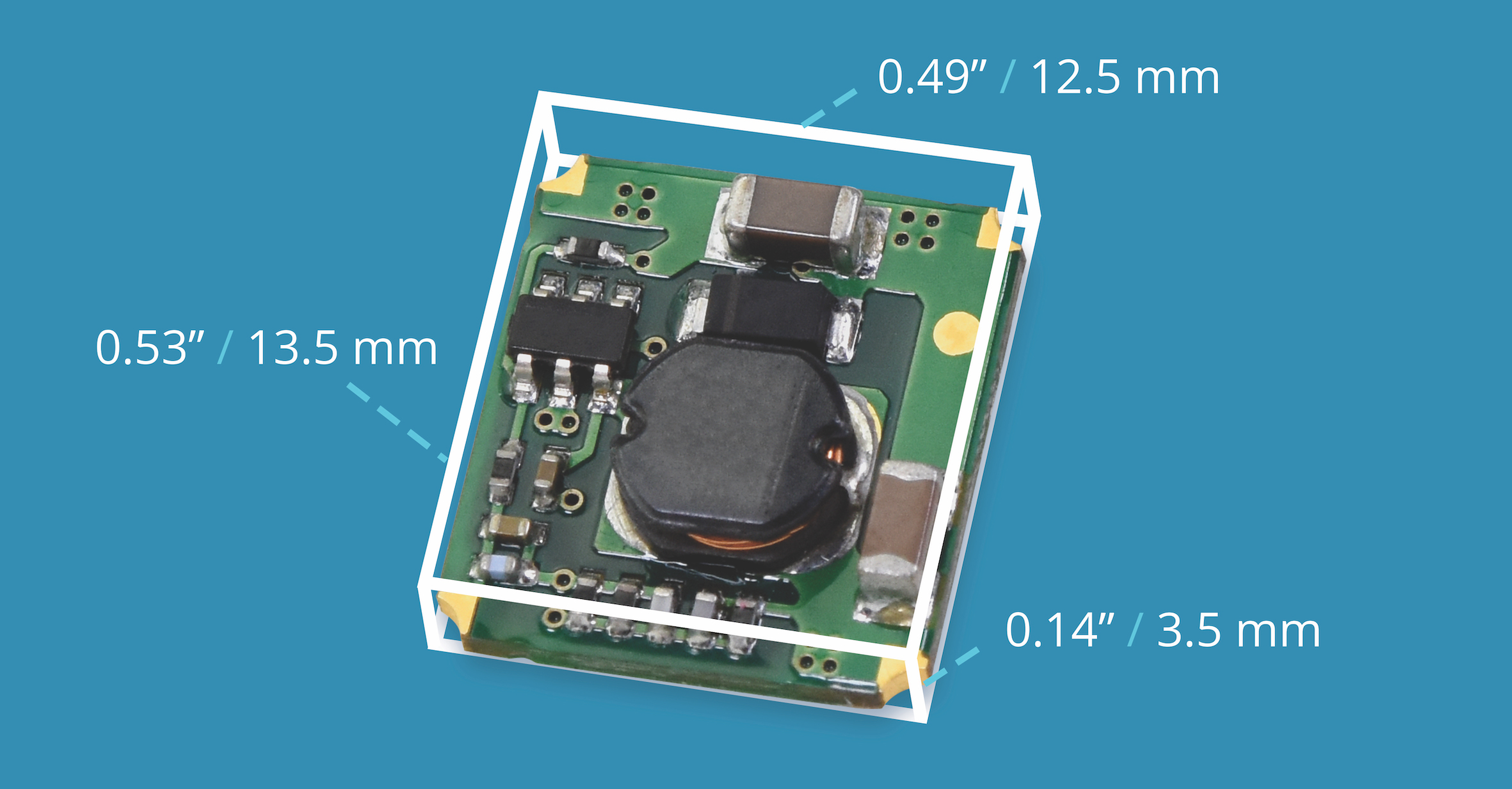 Non-Isolated DC-DC Converter Offers Efficiency at Low Cost