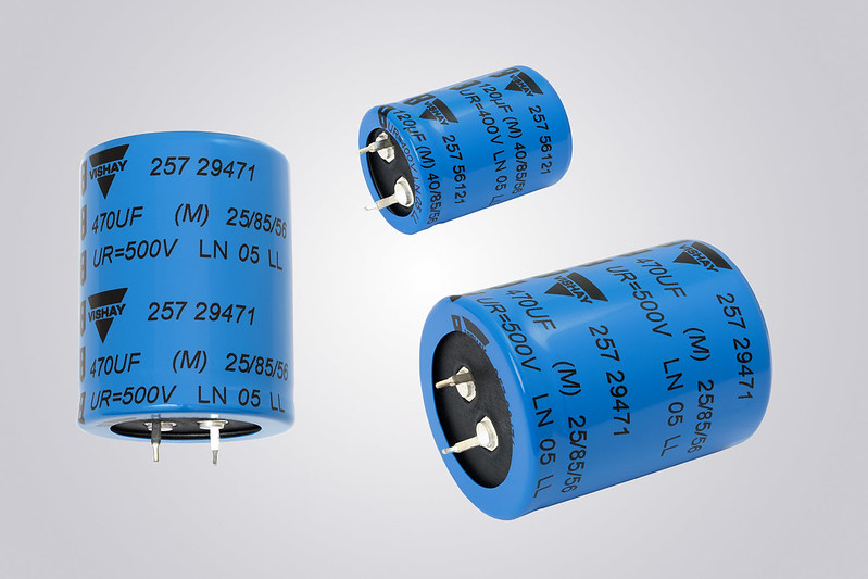Snap-in Aluminum Capacitors Enable Higher Power Density
