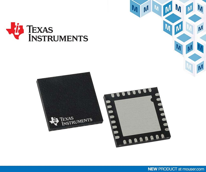 TI LMG341xR050 GaN Power Stage, Available at Mouser