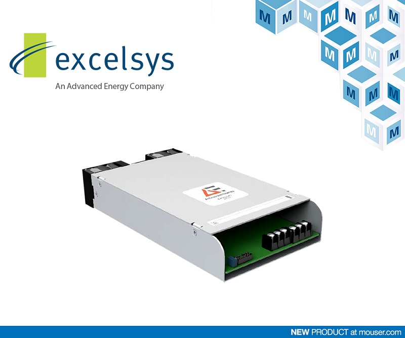 Mouser adds Excelsys Low Voltage Power Supplies