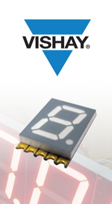 Vishay Seven Segment Displays in Stock at TTI