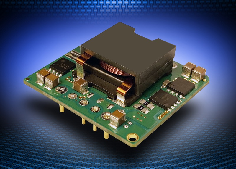 300W non-isolated, buck-boost DC-DC converters output 9.6V to 48V