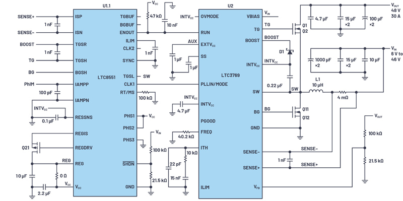 Multiply Power of a Boost Converter with a Phase Expander