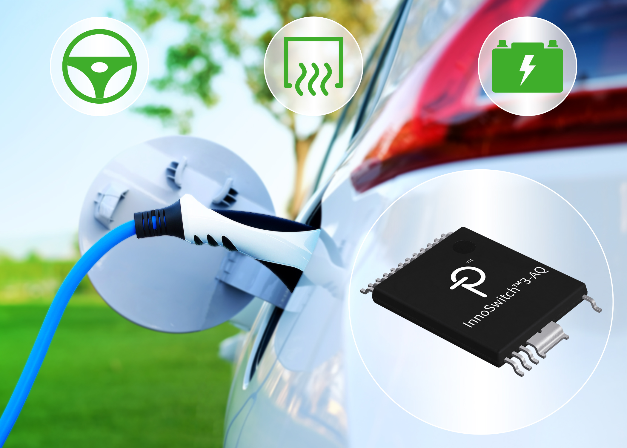 Flyback Switcher IC for Automotive BEV and PHEV Applications