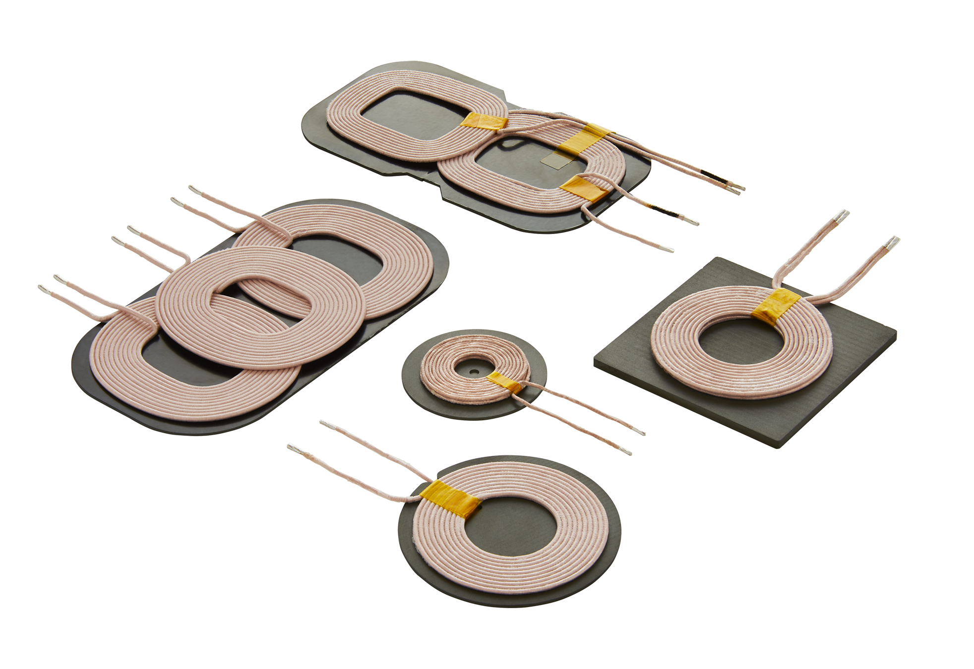 Wireless Charging Coils for General, Automotive Applications