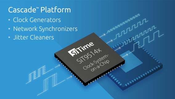SiTime Enables 5G Vision of 0 Downtime w/ 10x Reliability