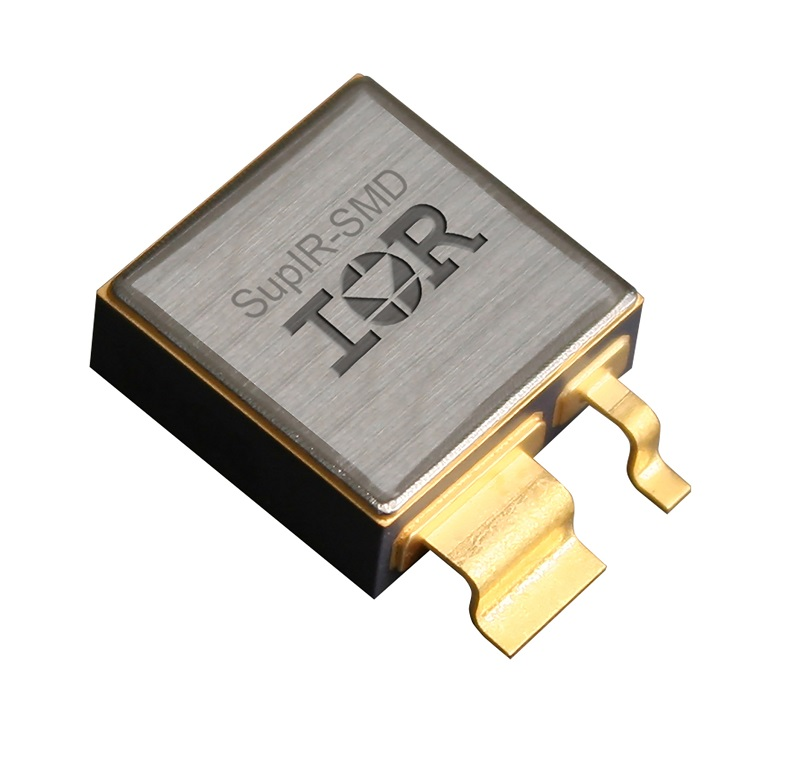 QPL-qualified SupIR-SMD package for rad hard MOSFETs