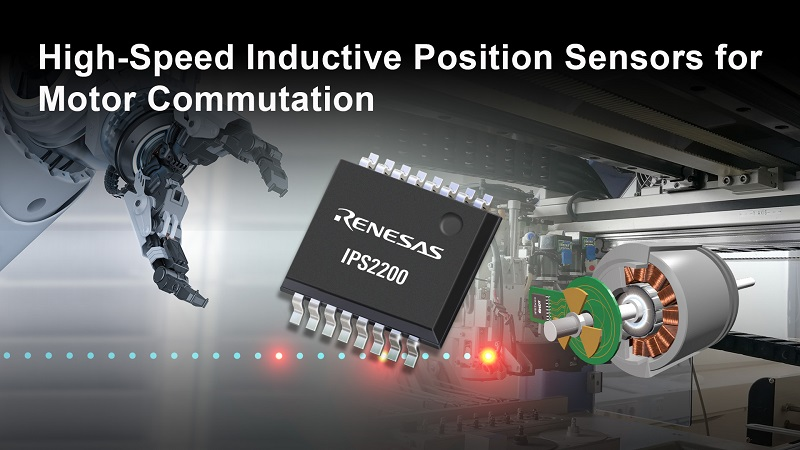 Renesas introduces High-Accuracy Inductive Position Sensing