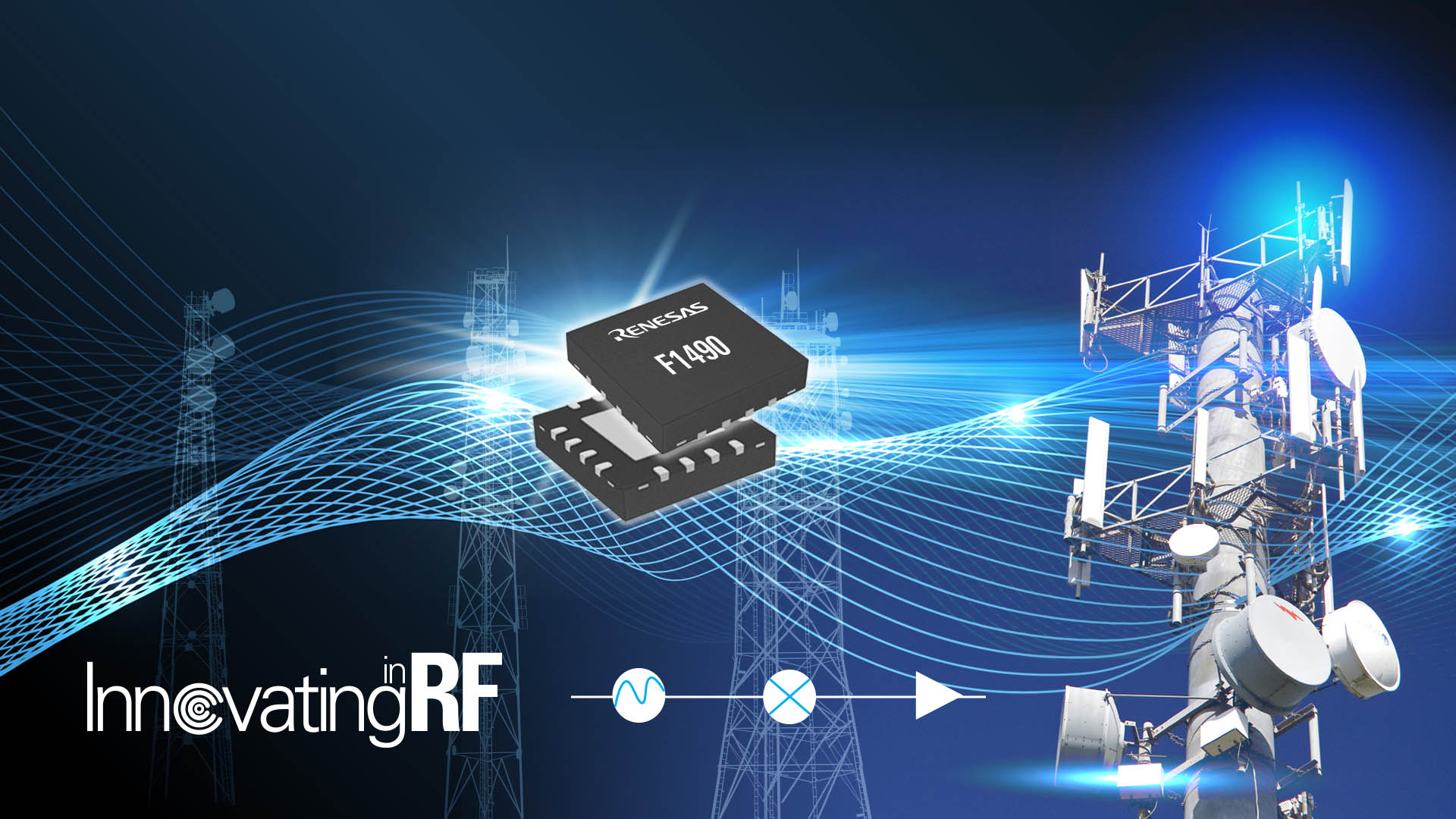Renesas Expands RF Portfolio for 4G/5G Infrastructure