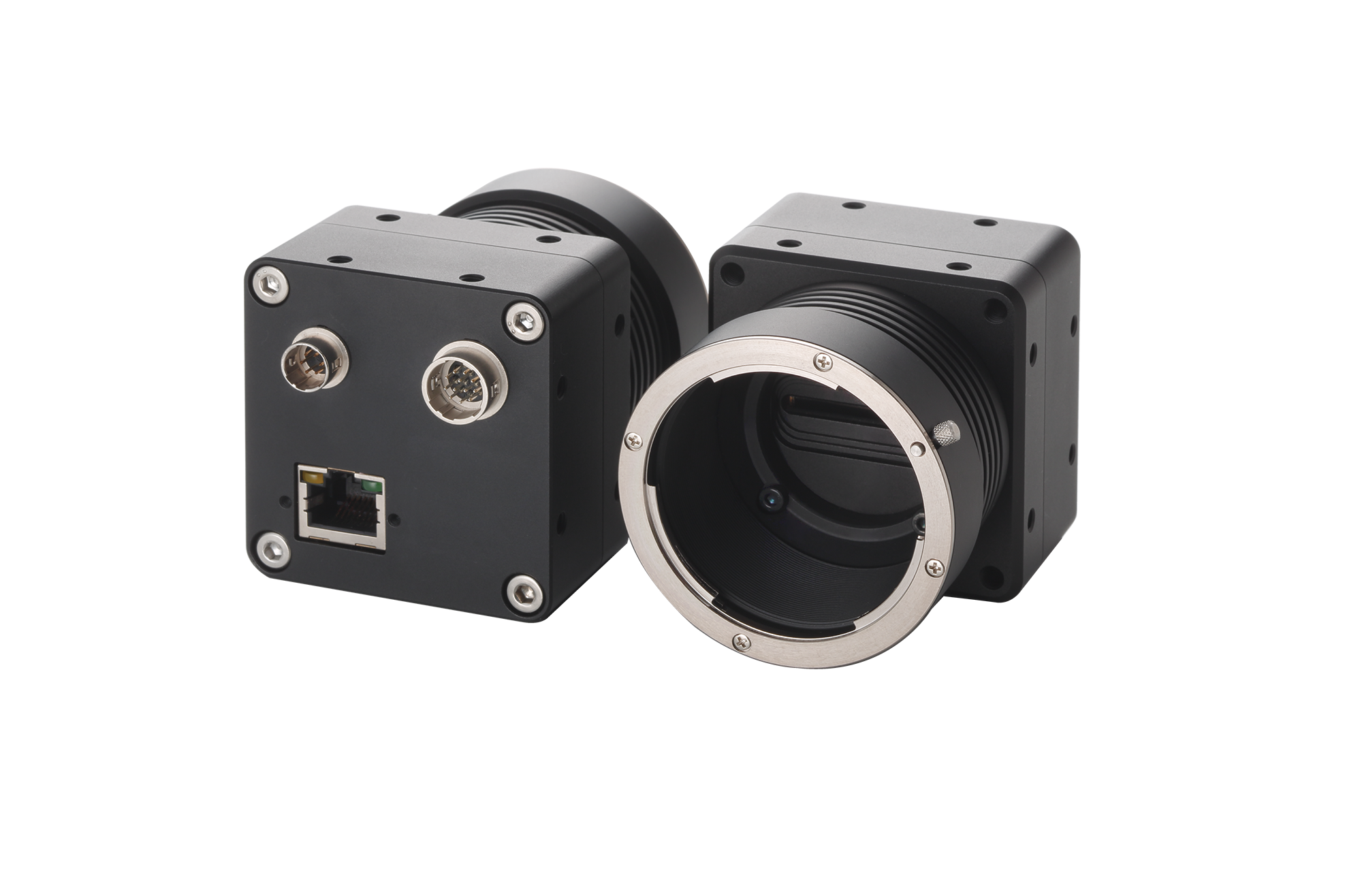Line Scan Cameras Feature Power over Ethernet Functionality