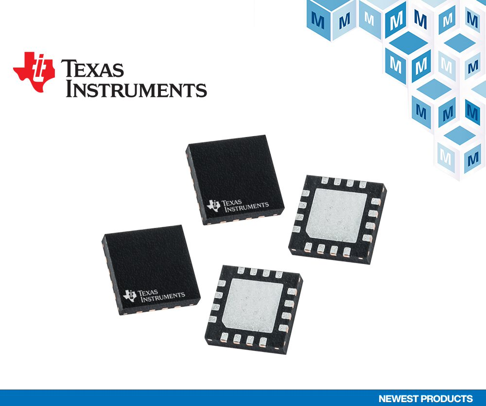 Mouser Offers Texas Instruments' 12-bit SAR ADCs