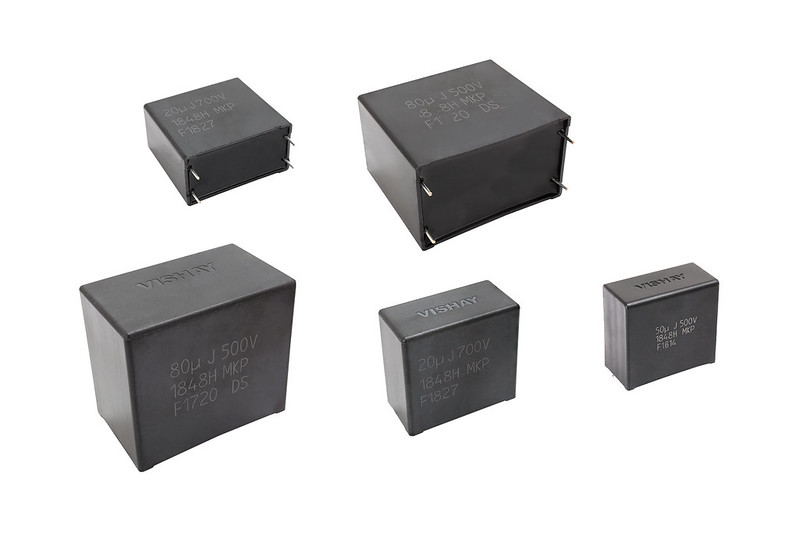 DC-Link Film Capacitors Deliver Stable Capacitance and ESR
