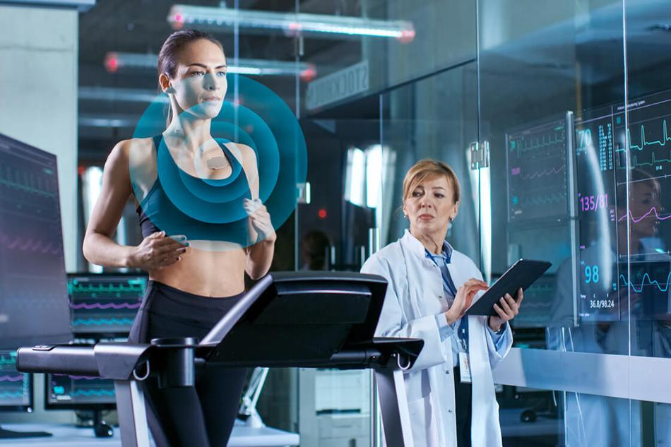 ams Ultra-Thin Sensor w/ Blood-Oxygen Monitoring Capability