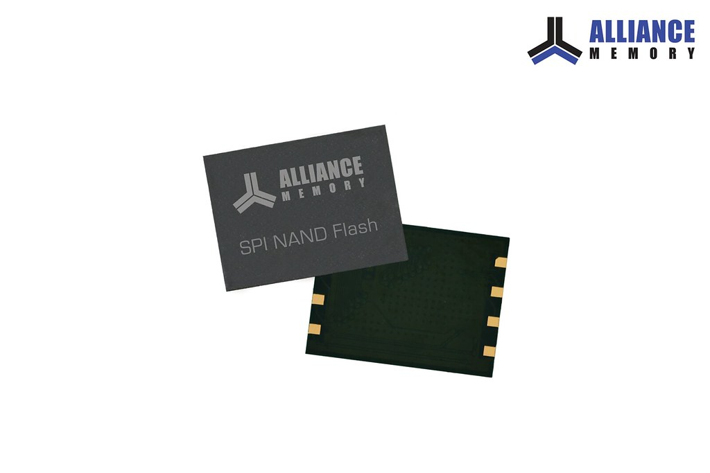 Alliance Memory's 1.8V, 3V SPI NAND Flash Memory Solutions