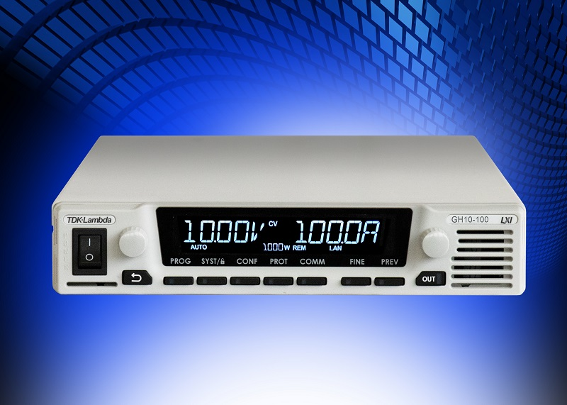 1U 1kW programmable DC power supplies