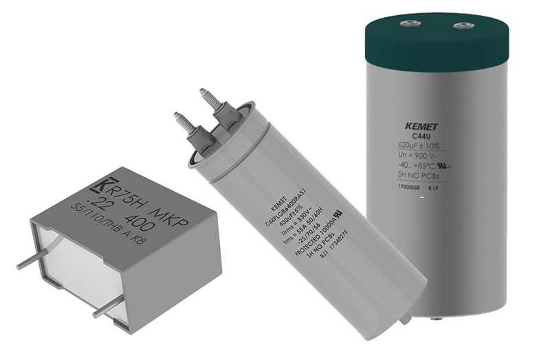 New Ranges of Film Capacitors for Green Energy and Automotive