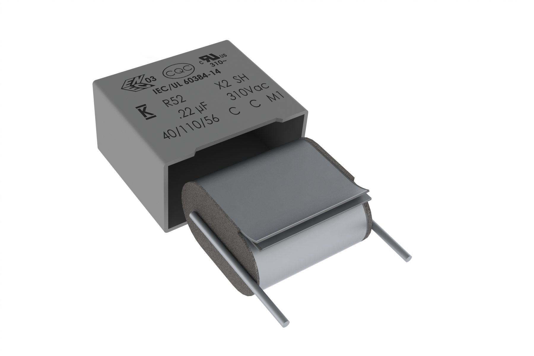 Space-Saving Film Capacitor for Automotive Applications